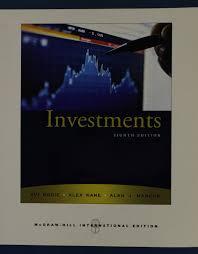 investments amazon co uk zvi bodie alex kane alan j marcus