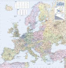 atlas road map 2017 collins europe road map collins uk 9780008203597