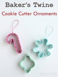 baker s twine cookie cutter ornaments cutesy crafts