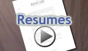 Video Resume Sample by Rit Ntid Nce Resumes