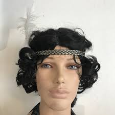gatsby headband white feathered great gatsby headband perth hurly burly