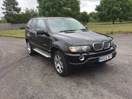 Bmw X5 Diesel - 02 bmw x5 black 3 0 diesel long mot low tax service history 3250