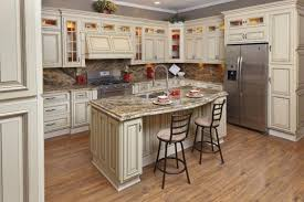 Kitchen Cabinet Painting Kitchen Cabinets Antique Cream Astounding Cream Glazed Kitchen Cabinets For Cabinet Painting