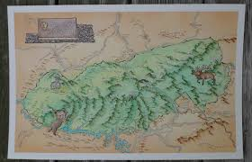 Great Smoky Mountains National Park Map I Paint Fantasy Maps Of American States Album On Imgur