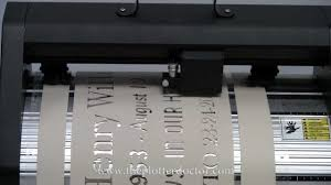 portable plotter sandblast stencil rubber mask cutter youtube