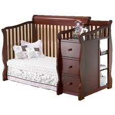 Sorelle Tuscany 4 In 1 Convertible Crib And Changer Combo Sorelle Furniture Tuscany 4 In 1 Crib N More Cherry Ny Baby Store