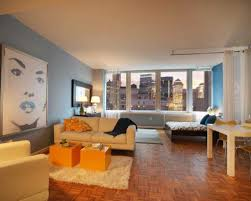 apartements marvelous small studio apartment living room decor