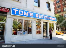 coffee shop in new york new york july 17 seinfeld location stock photo 99409088 shutterstock