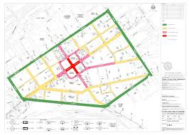 Map Of Medina Ohio by Maps Of Bus Stop Traffic Changes During Public Square Renovation