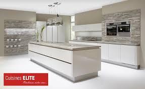 modele cuisine design cuisine blanc laqué et noir photos de design d intérieur et