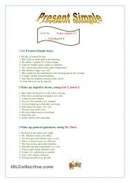 present simple esl worksheets of the day pinterest presents