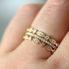 stackable wedding bands 50 coolest wedding bands for women gold weddings gold