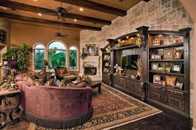 outstanding country living room furniture with purple leather sofa