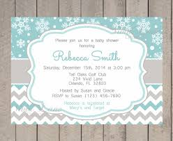 wonderful celebration winter baby shower invitations online free