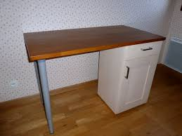 Kitchen Base Cabinets With Legs Faktum Kitchen Cabinet Into Desks Ikea Hackers Ikea Hackers