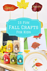 15 fun fall crafts for kids to make this autumn