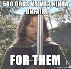 Aragorn Meme - cus communities caught up in meme mania gym humour gym and humor