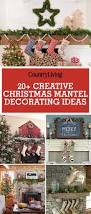 36 christmas mantel decorations ideas for holiday fireplace