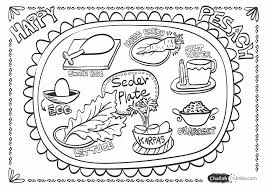 seder plate for kids coloring page seder plate challah crumbs