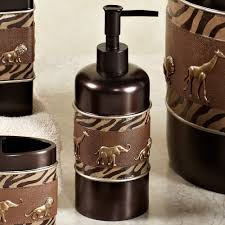 themed soap dispenser animal parade safari bath accessories