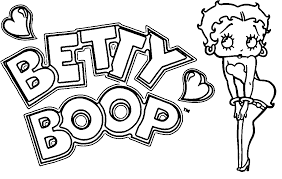 betty boop halloween betty boop coloring pages nebulosabar com
