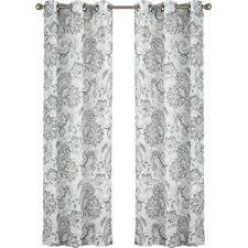 Black And Fuchsia Curtains Paisley Curtains You U0027ll Love Wayfair
