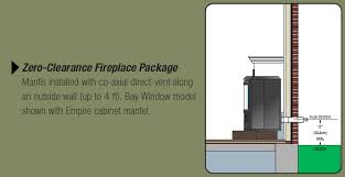 Direct Vent Fireplace Installation by American Hearth Direct Vent Gas Godby Hearth And Home
