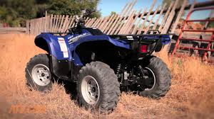 2014 yamaha grizzly 700 review youtube