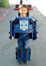 Robot Halloween Costume Toddler Coolest Homemade Optimus Prime Transformers Transformer Costume