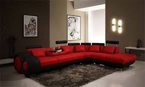 canapé tendance canapé d angle design avec relax intégré en cuir italien