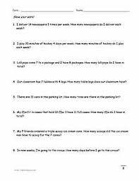 printable multiplication word problems multiplication word problem worksheets