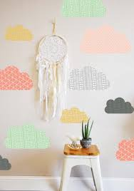 jazz up your walls with some of these 50 diy wall decals cloud wall decals