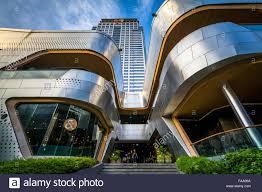 Modern Buildings Modern Buildings At Siam In Bangkok Thailand Stock Photo