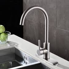 kitchen sink with faucet kes pep1 10 inch kitchen sink faucet cover deck plate