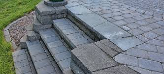 How To Make Paver Patio How To Build Paver Patio Steps Doityourself