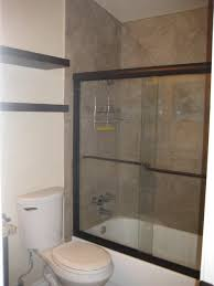 Glass Doors For Tub Shower Bathroom Bathtub Shower Combo With Glass Door Tub Shower Combo