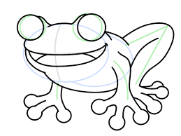 coloring mesmerizing simple frog drawing draw 9
