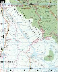 Jasper National Park Canada Map by Jasper National Park