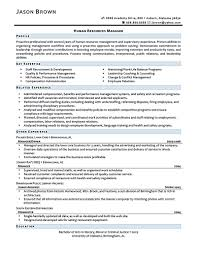 Example Of Resume For Human Resource Position by Entry Level Human Resources Resume 1 Hr Human Resources Resume