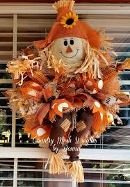 Homemade Scarecrow Decoration Best 25 Scarecrow Wreath Ideas On Pinterest Fall Burlap Wreaths