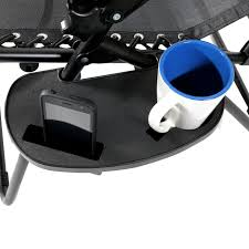Gravity Chair Replacement Cord Sunnydaze Zero Gravity Chair Cup Holder U0026 Mobile Device Slot