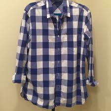 49 off american eagle outfitters other men u0027s blue u0026 white plaid