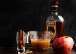 apple pie bourbon cocktail just a bit of bacon