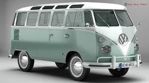 volkswagen type 2 volkswagen type 2 samba 1963 3d model vehicles 3d models classic