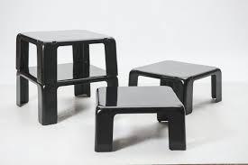 set of four nesting coffee tables u0027quattro gatti u0027 by mario bellini