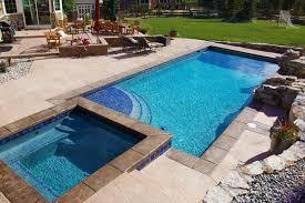backyard pool and spa integrity builders pics on amusing backyard