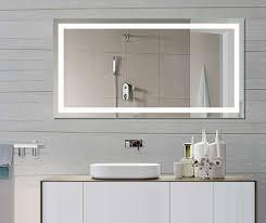 Led Backlit Bathroom Mirror Backlit Bathroom Mirror From Designer S Tips To Own Project