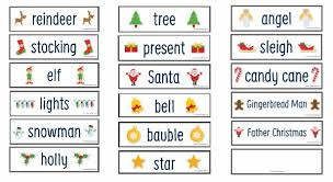 Words Cards The Ultimate Christmas Printable Activity Pack Learning 4 Kids