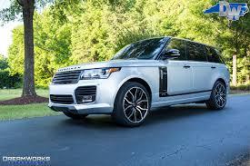 matte blue range rover range rover u2014 dreamworks motorsports
