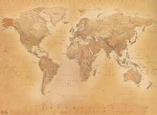 1wall old antique vintage map giant wallpaper photo wall mural ebay